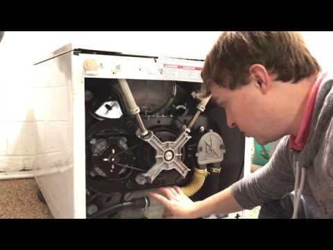 Kenmore Elite Calypso Washer - unclog the pump