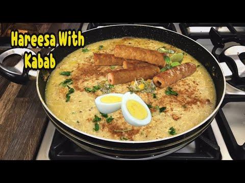 Chicken Hareesa With Chicken Kabab (kashmiri Hareesa) By Yasmin's Cooking
