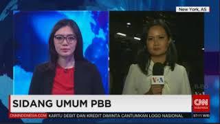Laporan Langsung VOA untuk CNN Indonesia: Sidang Majelis Umum PBB
