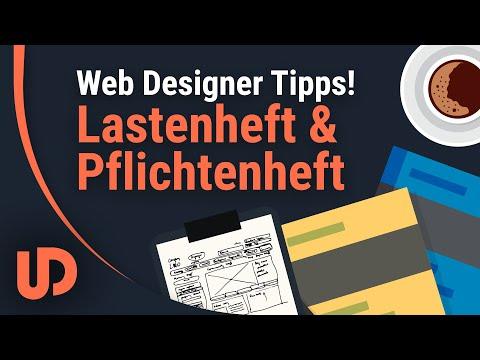 Web Designer Tipps: Lasten-/ und Pflichtenheft. Warum brauche ich das? [TUTORIAL]
