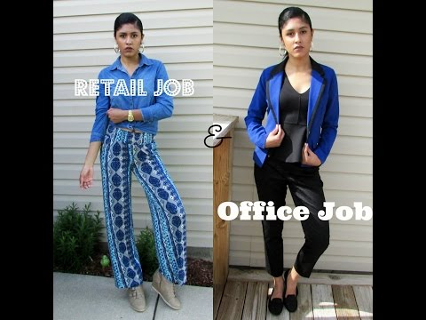 RETAIL & OFFICE JOB INTERVIEW OUTFITS | DOPECUBAN