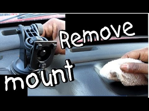 How to Remove Mount from Dashboard