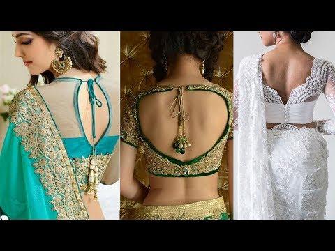 Latest New Trendy Saree Blouse Designs - She Fashion