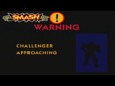 Super Smash Bros 64 - Como conseguir a Captain Falcon
