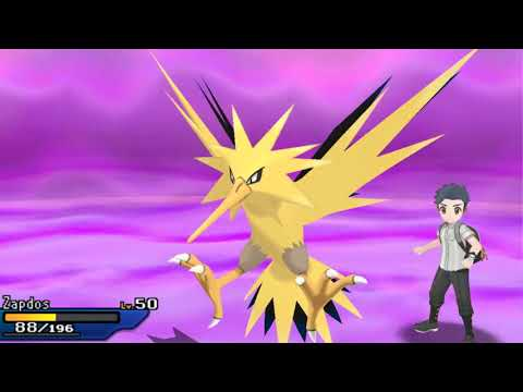 Static Zapdos [OU] Wifi Battle Vs Emilia Pokemon Ultra Sun & Ultra Moon