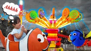 Fair Rides Kids Adventure with Dory For Children and Toddlers - Annica First Trip To The Fair 2017