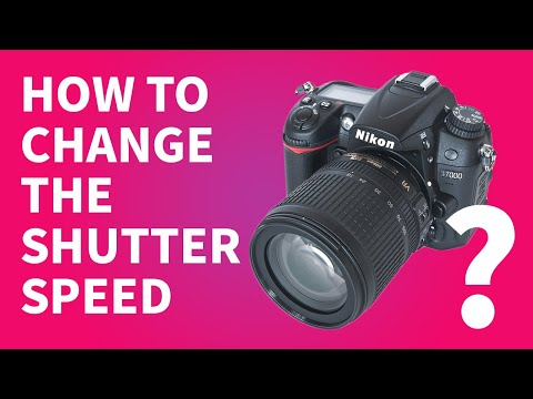 How to Change the Shutter Speed