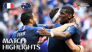 France v Australia - 2018 FIFA World Cup Russia™ - MATCH 5