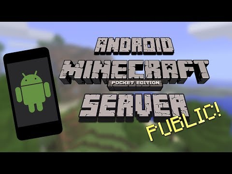 PUBLIC MCPE SERVER USING ANDROID | Minecraft PE Server and Port Forwarding Tutorial