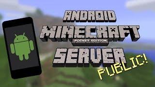 Minecraft (PE) 1 2 : HOW TO CREATE A POCKETMINE SERVER! {1 2
