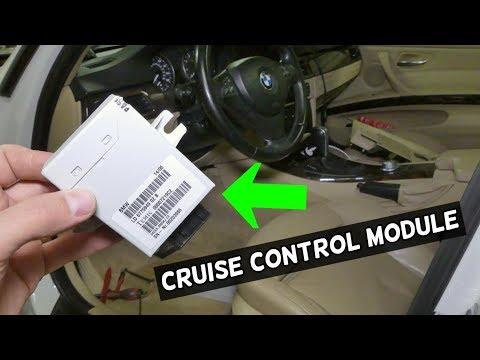 HOW TO RMOVE AND REPLACE CRUISE CONTROL MODULE ON BMW E90 E92 E91 E93