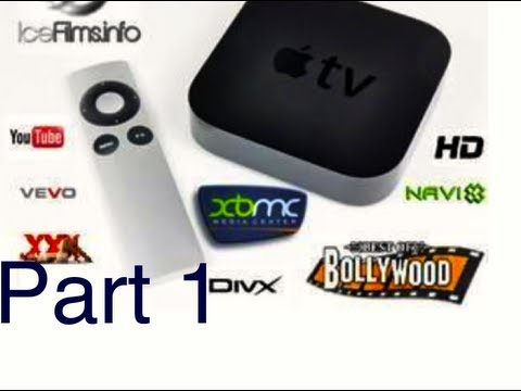 AppleTV-2 Jailbroken (Part~1) NO MORE CABLE BILL - FREE HDTV CHANNELS, MOVIES & MORE