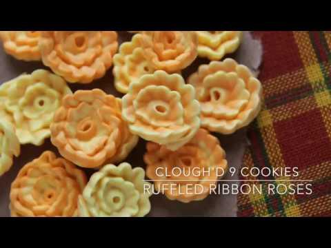 Ruffled Ribbon Roses