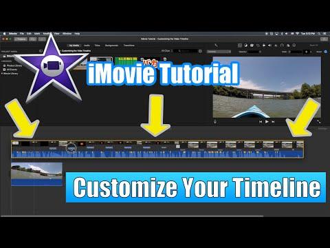 iMovie Tutorial - Customizing the Video Timeline Tutorial