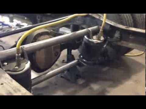 1953 Chevy COE Truck Build Part 8 Four Link Suspension