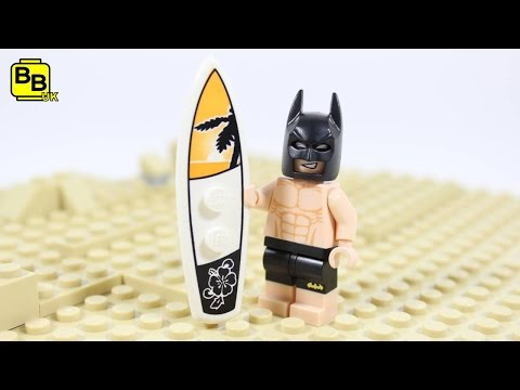 LEGO BATMAN MOVIE POINT BAT SUIT MINIFIGURE CREATION