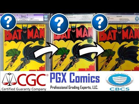 CGC vs. PGX vs. CBCS | GRADING TEST | SAME COMIC | CRAZY RESULTS