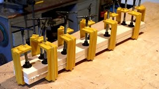 Homemade twelve C-Clamps