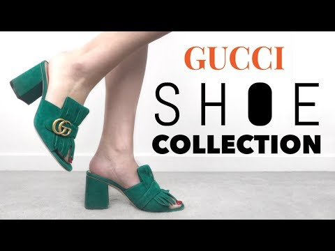 MY GUCCI SHOE COLLECTION + TRY ON   Mel in Melbourne