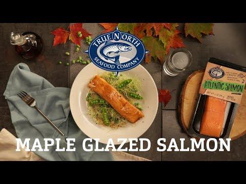 Easy Maple Glazed Salmon Recipe