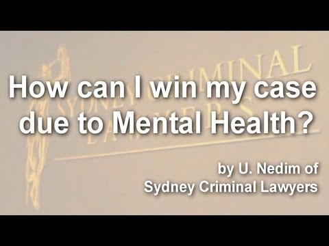 How can I win my case due to mental health?