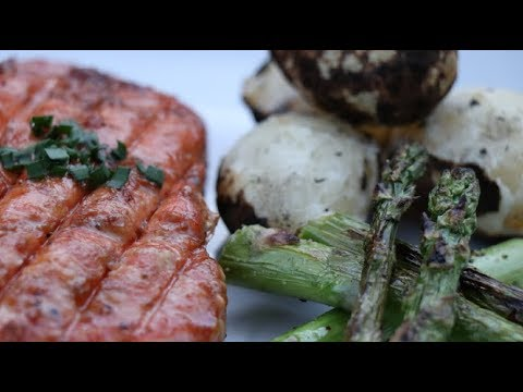 Grilled Salmon | Maple Glazed Salmon Recipe