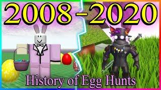 History of ROBLOX Egg Hunts 2008-2020