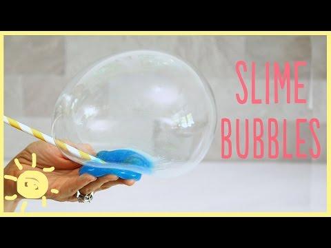 DIY | Reusable Slime Bubbles