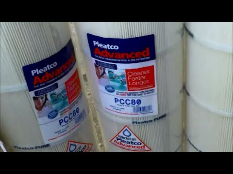Pleatco Advanced Pool and Spa Cartridge Filter - Test & Review