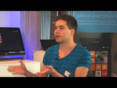 Student interview on Windows 8 application creation