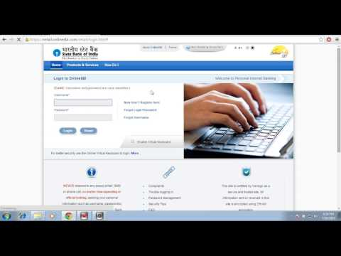 How to make a NEFT Transaction SBI online
