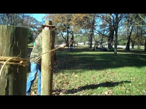 How to Build High Tensile Electric Fence 101: Part One/The Allen Brothers