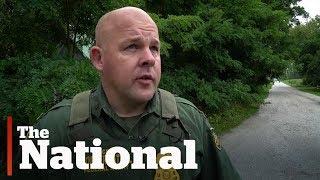 Guarding Canada-US illegal border crossings