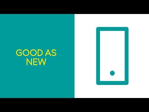 Good As New: Like buying a refurbished phone, only much better