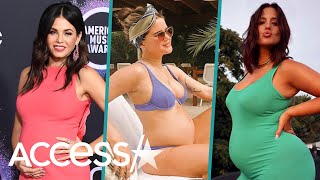 Jenna Dewan, Ashley Graham & More Pregnant Celebrities Giving Birth In 2020