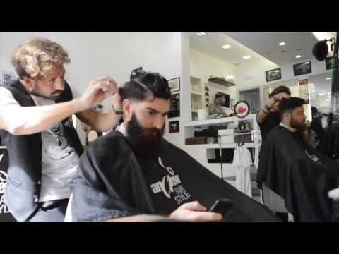 Hair Cut in the Salon by Andrew Hair Style