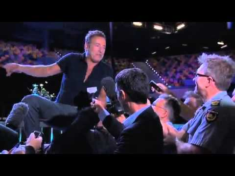 Backstage and Soundcheck with Bruce Springsteen at Brisbane Entertainment Centre