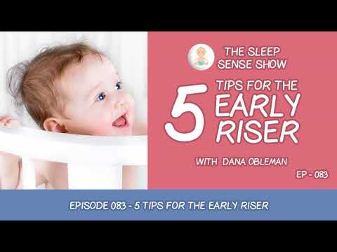 Episode 083 - 5 Tips for the Early Riser