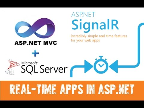 Real-Time ASP.NET MVC application using SignalR with SQL Server
