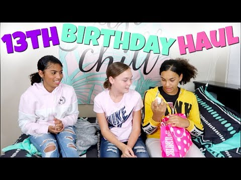 $520 13TH BIRTHDAY SHOPPING SPREE HAUL! PINK, HOLLISTER, FOREVER 21, AMERICAN EAGLE + MORE!