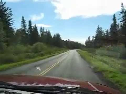 A drive through the Whiteshell Provincial Park - Part 1 of 4