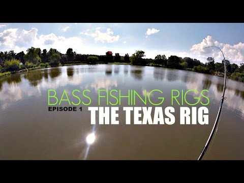 How To Texas Rig - Bass Fishing Rigs Series