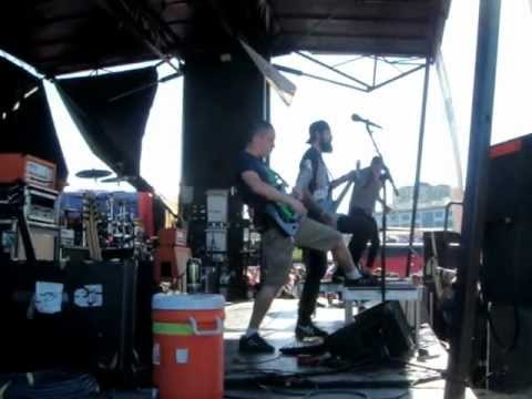 After The Burial - Fingers Like Daggers warped tour 2012 San Francisco