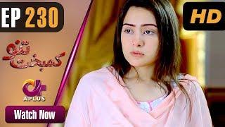 Drama | Kambakht Tanno - Episode 230 | Aplus ᴴᴰ Dramas | Tanvir Jamal, Sadaf Ashaan