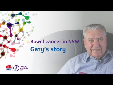 Gary's first FOBT bowel cancer screen