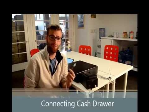 How to Connect a Printer and Cash Drawer to Square Register
