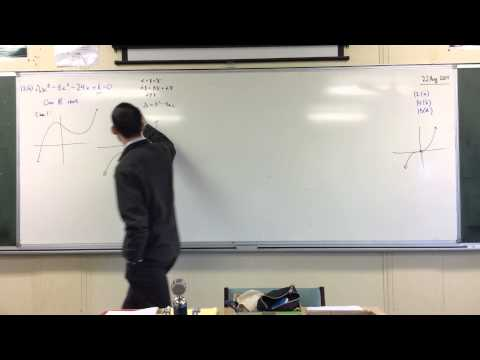 Exam Problem: Cubic Polynomial w/ 1 Real Root