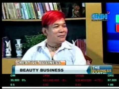 Philippine Business TV Talk Show Host and Motivational Speaker Lloyd Luna with Jess Suarez