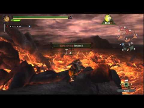 Monster Hunter 3 Ultimate Walkthrough Part 42 Harvest Tour Volcano HR 5