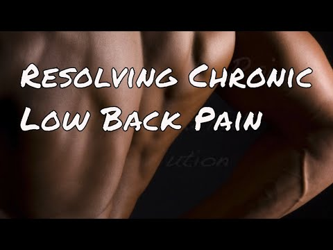 Resolving Low Back Pain - How To Achieve Great Results